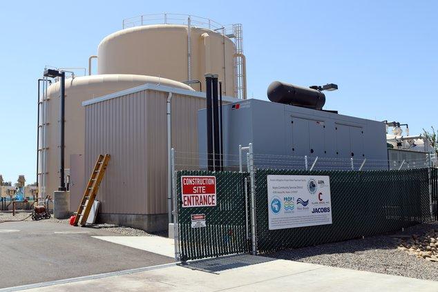 keyes arsenic tank