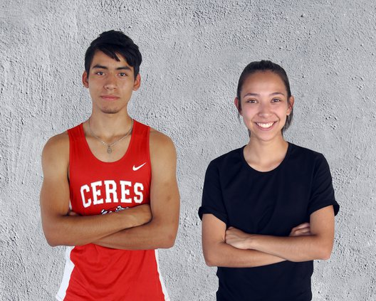 Luis Yepez and Jackie Rodriguez