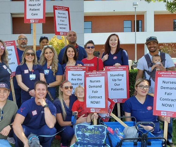 Emanuel nurses strike