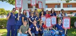 Emanuel nurses strike