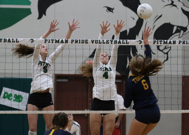 Pitman volley