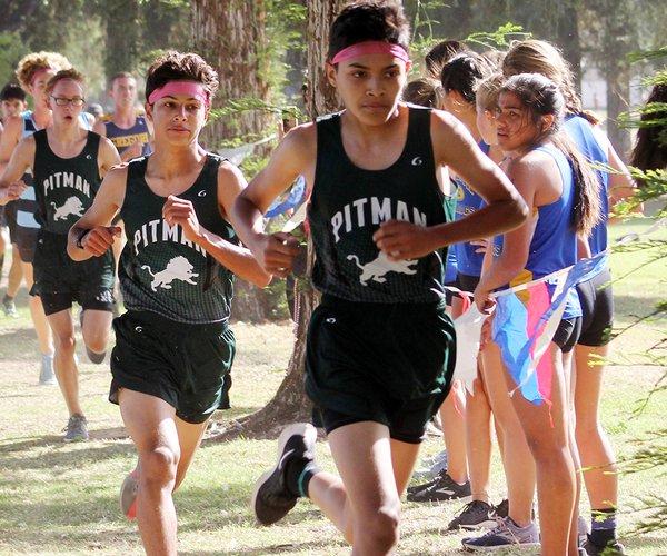 Pitman boys cross country