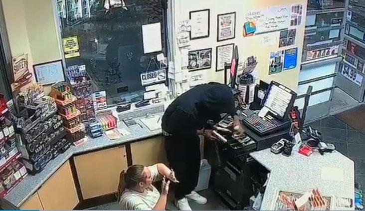 robbery video geer