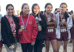 Ceres High varsity girls cross country