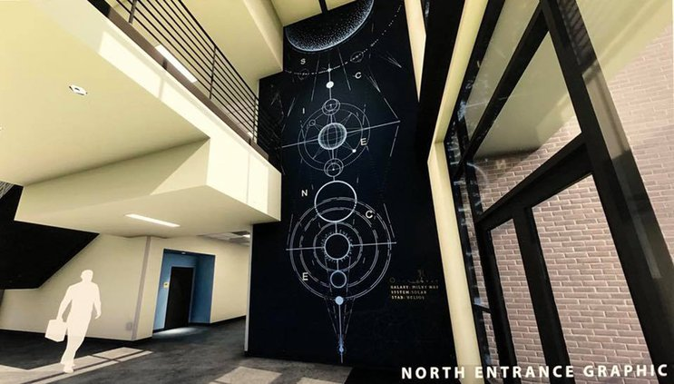 THS science building 1