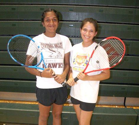 Bandna Bhatti and Virginia Moore