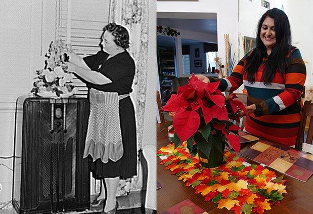 Turlock housewives arranging flowers