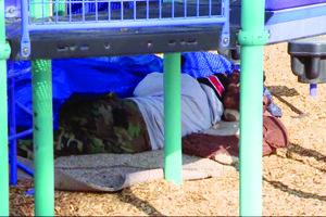 WYACOl homeless sleep