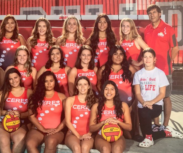 Cereswater polo team girls